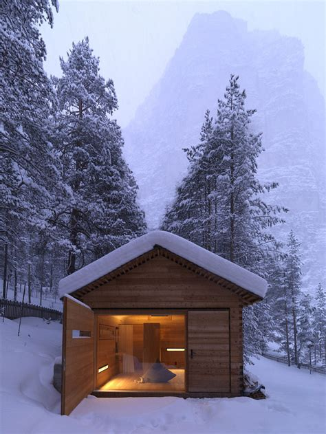 open cabin cozy mountain cabin can open up to the elements modern