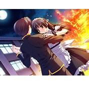 Baile De Fin A&241o  No Conosco Este Anime Pero La Imagen Me Gusto