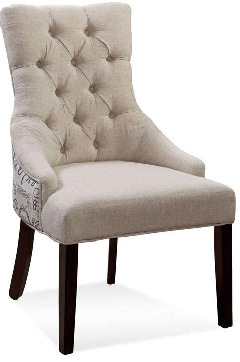 Tufted Nailhead Chair by Fortnum Script Fabric Tufted Nailhead Parson Chair Dpch15 739ec Bassett Mirror