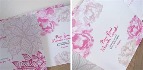 fiori fucsia matrimonio partecipazioni matrimonio con i fiori color fucsia