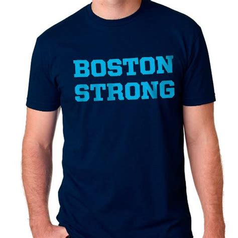 T Shirt Run Bos Kaos Run Bos boston strong s cotton t shirt navy