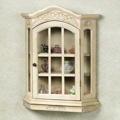 glass curio cabinets traditional and wall mount on