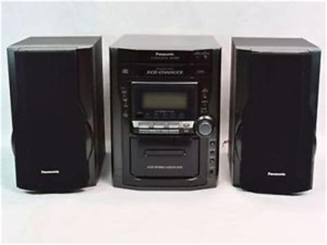 panasonic sa pm29 5 cd am fm cassette mini shelf stereo