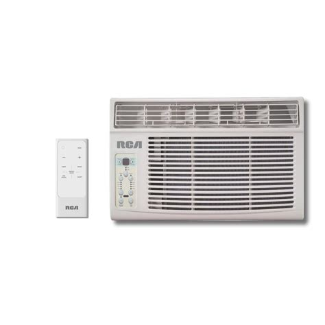 8000 Btu Window Air Conditioner by Rca 8 000 Btu 115 Volt Window Air Conditioner With Remote