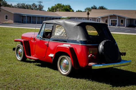 Upholstery Repairs Melbourne 1950 Willys Overland Jeepster Jeep Classic 1951 1952