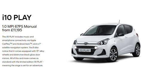 Hyundai I10 Available From Stacey S Motors In Bridgwater
