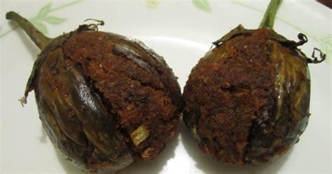 stuffed eggplant a2zindianrecipes stuffed eggplant