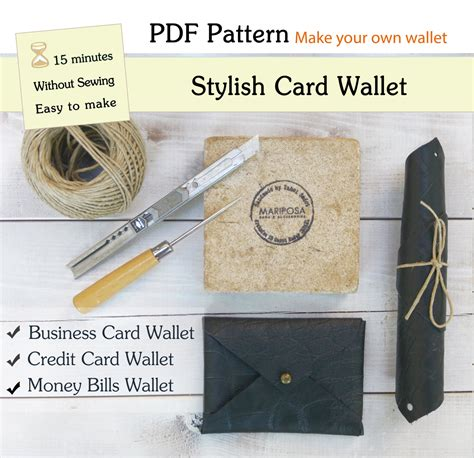 e wallet card templates pdf digital wallet template leather wallet