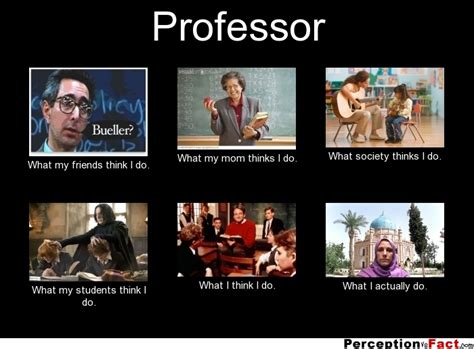 What I Do Meme - professor what people think i do what i really do