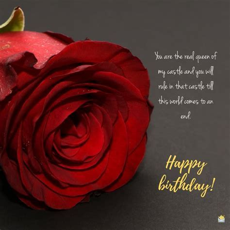 Romantic Birthday Wishes for your Wife   Happy Bday, Love!