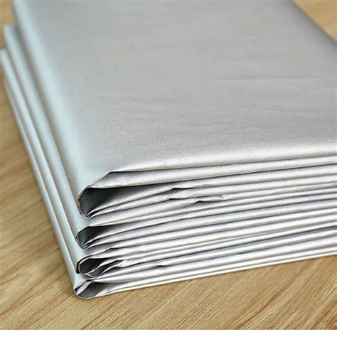 thermal curtain lining which side out silver polyester light insulation thermal full blackout