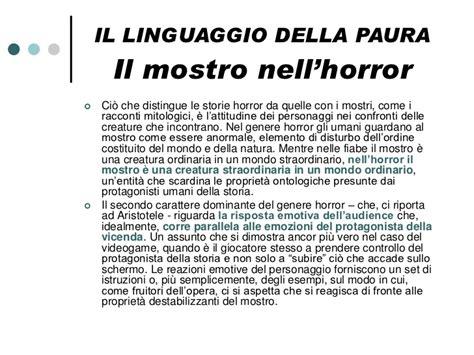 testo horror videogiochi e horror