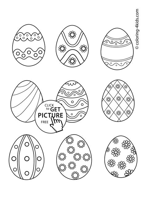 coloring pages of small easter eggs easter eggs coloring pages for prinables 23