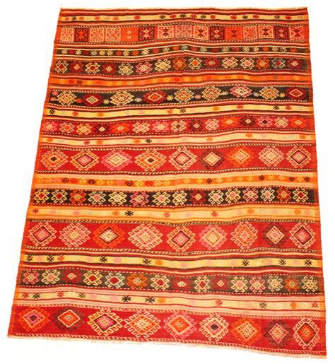 teppiche kelim kelim teppich t 252 rkischer 270 x 162 cm trendcarpet de