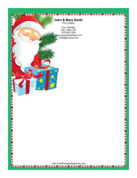 printable santa border paper santa border writing paper new calendar template site