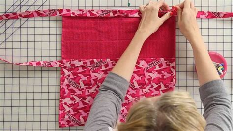 sewing apron youtube how to sew a duck dynasty apron fat quarter shop youtube