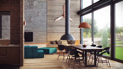loft home decor industrial lofts