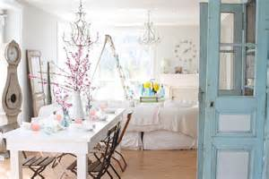 Shabby Chic Style Decorating by 25 Shabby Chic Dining Room Designs Decorating Ideas