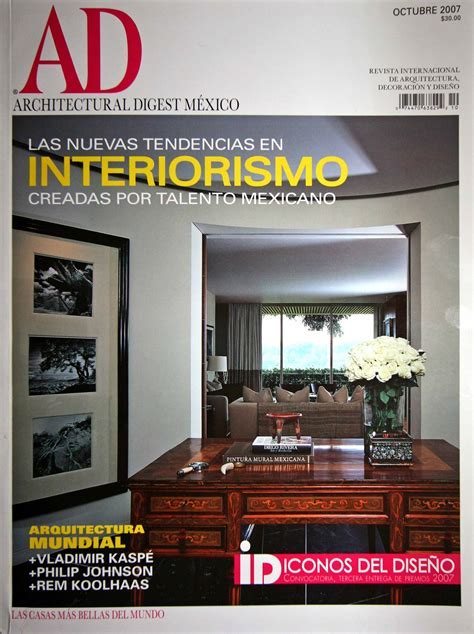 home design architecture magazine architectural digest mexico