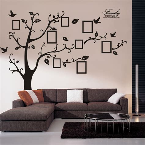 home decor stickers wall wall stickers home decor wall sticker tree family tree picture photo frame tree wall