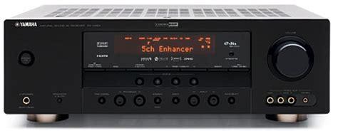 yamaha rx  av receiver sound vision