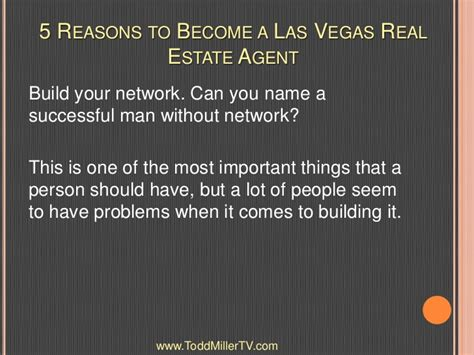 why you should become a real estate agent after university 5 reasons to become a las vegas real estate agent