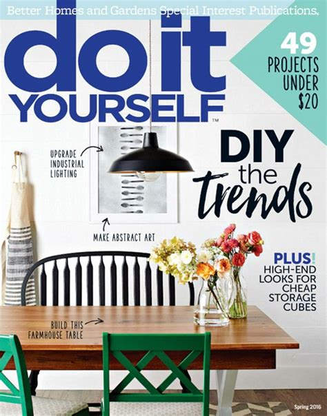 do it yourself magazine deal do it yourself magazine sale activities
