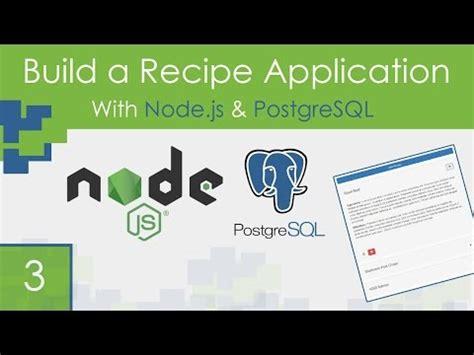 node js dust tutorial postgresql videolike