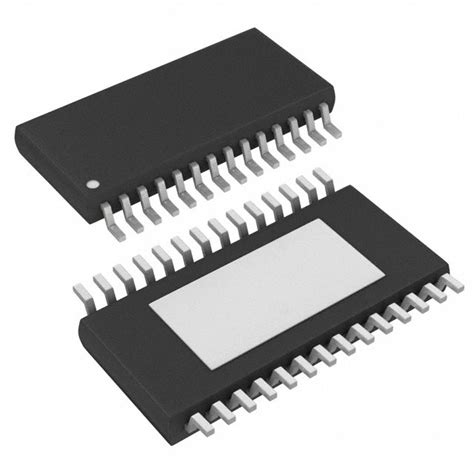 surface mounted integrated circuit package max7456eui t datasheet specifications mounting type surface mount package