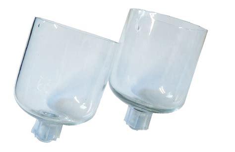 kerzenhalter mit glasaufsatz 5er set glasaufsatz f 252 r kerzenst 228 nder windlicht aufsatz