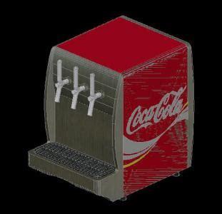 dispense autocad soda dispenser in autocad drawing bibliocad
