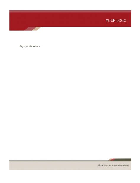 free templates for letterhead 46 free letterhead templates exles free template