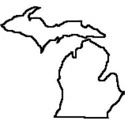 Large Outlines Of States by State Of Michigan Picture Clipart Best