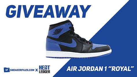 Air Jordan Giveaway - giveaway royal air jordan 1 win free sneakerfiles