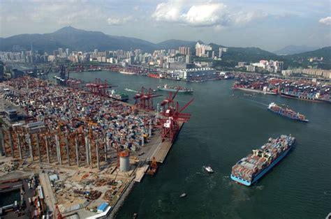 grande porto cinese i cinque porti pi 249 grandi mondo cinque cose