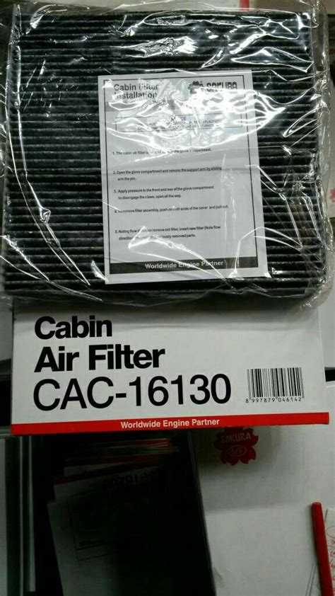 jual filter ac cabin honda brv hrv mobilio brio new