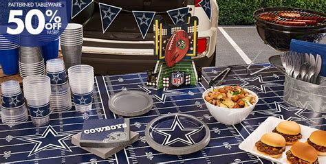 Dallas Cowboys Decoration Ideas by Nfl Dallas Cowboys Supplies Decorations
