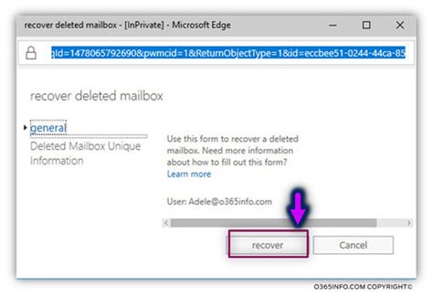 Office 365 Recover Deleted Mailbox What Are The Possible Options For Recovering Exchange
