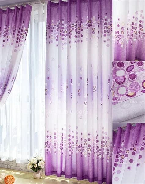 white and purple curtains interior pretty ideas of purple curtains for bedroom to