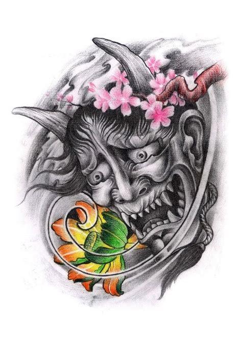 tattoo oriental hanya 17 best ideas about oni tattoo on pinterest japanese