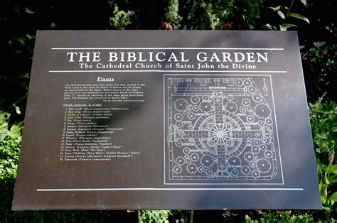Garden Of Bible The Biblical Gardens Of Nyc Series God In Nyc Gardens