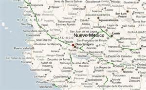 Nuevo Mexico Map by Nuevo Mexico Location Guide