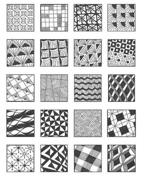 doodle pattern pdf grid 2 zentangle patterns zentangle and patterns