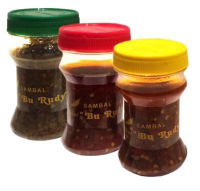 Sambal Terasi Bajak Khas Bu Rudy Botol Tutup Merah macam jenis sambal bu rudy surabaya oleh oleh khas surabayaoleh oleh khas surabaya