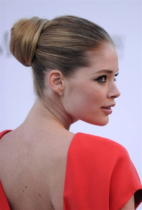 most popular sleek classic french twist with side bangs the most popular sleek ballerina bun updo hairstyles this