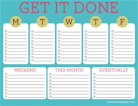 16 free printables to organize your life chloe isabel 16 free printables to organize your life free printable