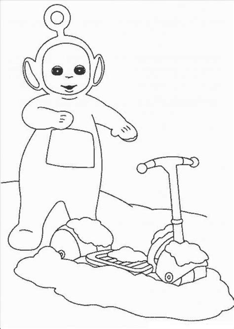 printable teletubbies coloring pages  kids