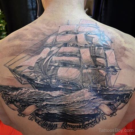 tattoo back ship ship tattoos tattoo designs tattoo pictures page 4