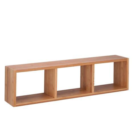 Honey Shelf by Honey Can Do 29 92 In W X 6 3 In D Cube Wall