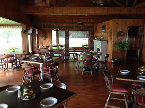 The Log Cabin Bar And Grill by The Charming Cabin Restaurant In Michigan That Feels Just